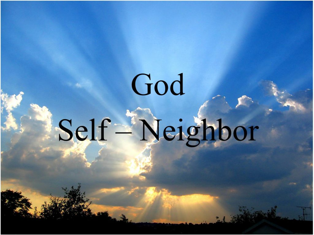 God Self Neighbor