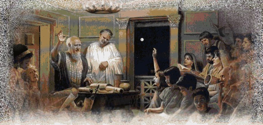Early Christians Met in Homes